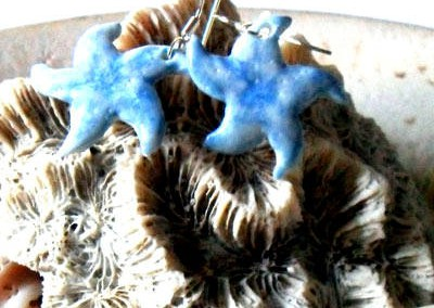 earring stella marina celeste