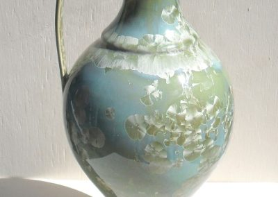Greek jug green